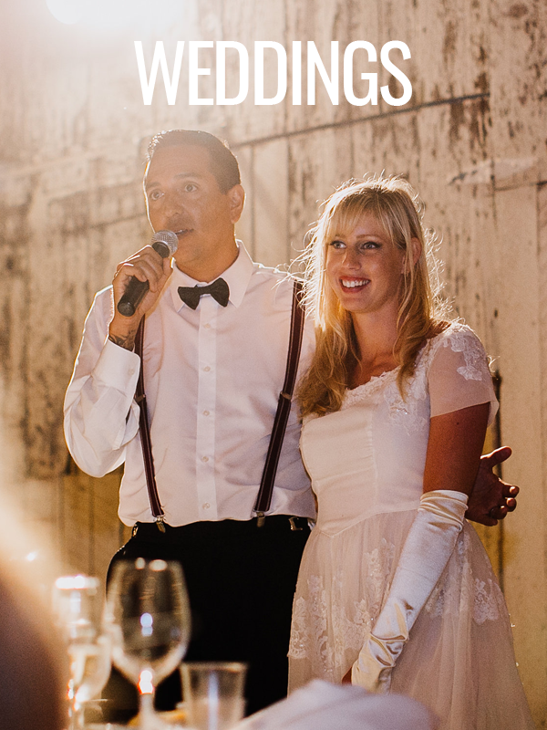 epic entertainment wedding toast groom bride thanks